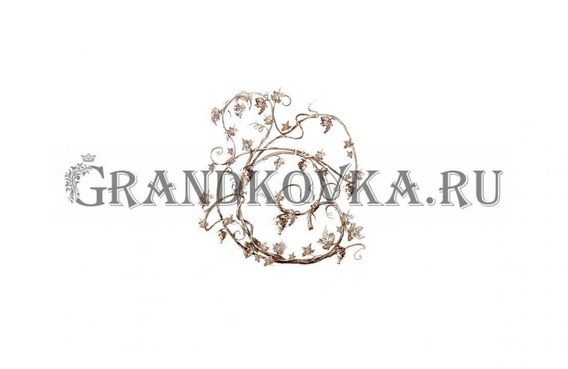 Эскиз кованого цветка ЭКФОНДЕК-257
