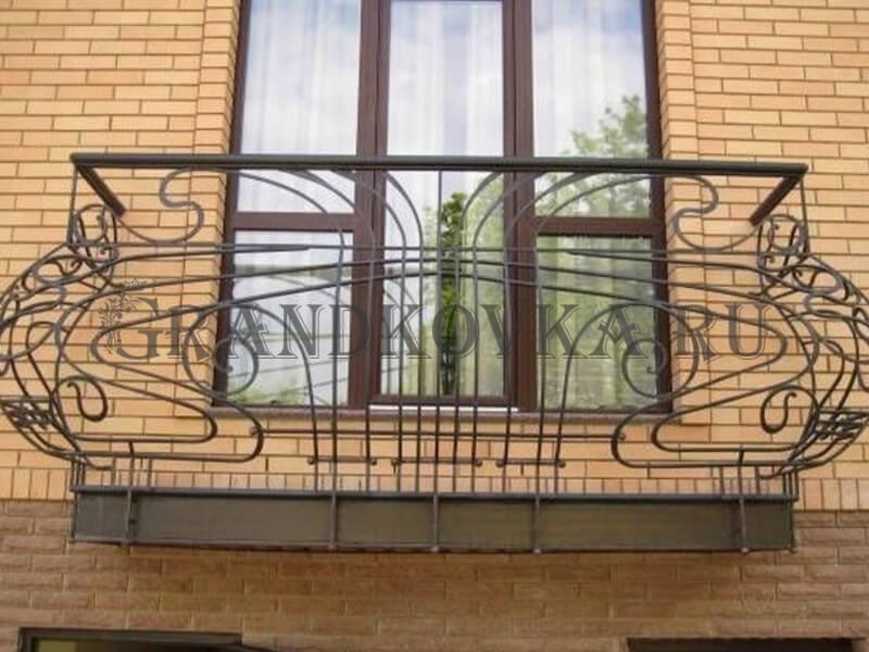 Фото кованого балкона 15