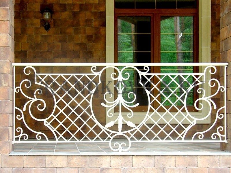 Фото кованого балкона 19