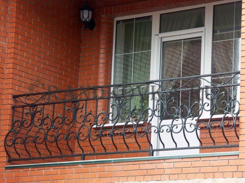 Фото кованого балкона 28