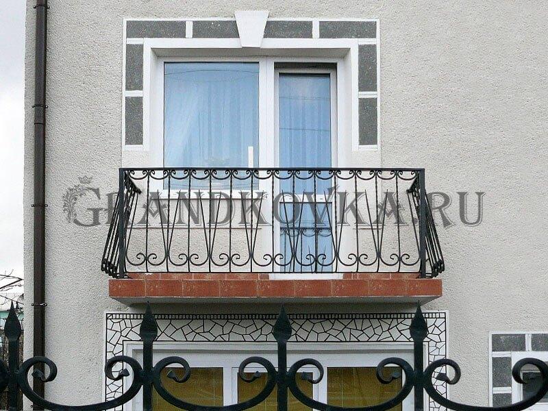 Фото кованого балкона 6