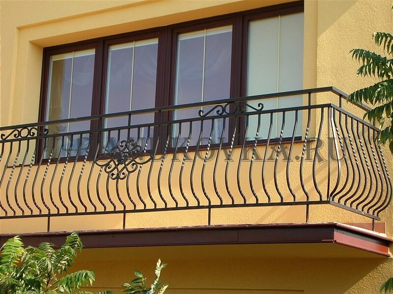 Фото кованого балкона 7