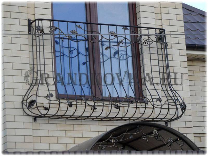 Фото французского кованого балкона 6