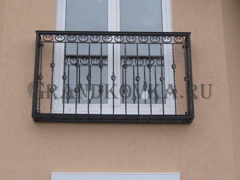 Фото французского кованого балкона 7