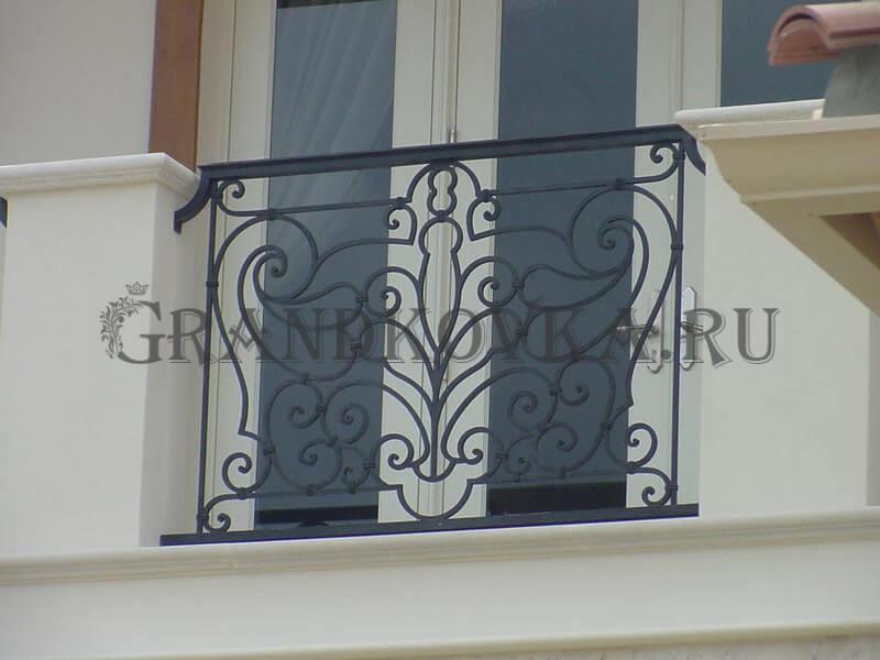 Фото французского кованого балкона 9
