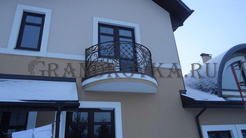 Кованое ограждение для балкона ОГРБАЛ-4