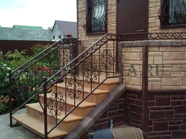 Фото лестницы для крыльца 16